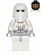 Minifig No: sw0463  Name: Snowtrooper, Light Bluish Gray Hips, Light Bluish Gray Hands, Printed Head, Torso Back Printing