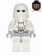 Minifig No: sw0463  Name: Snowtrooper, Light Bluish Gray Hips, Light Bluish Gray Hands, Printed Head, Torso Back Printing