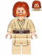 Minifig No: sw0489  Name: Obi-Wan Kenobi (Mid-Length Tousled with Center Part Hair)