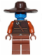 Minifig No: sw0497  Name: Cad Bane - Reddish Brown Hands and Legs