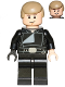 Minifig No: sw0509  Name: Luke Skywalker (Jedi Master, Endor, Dark Tan Hair, Smile / Open Mouth)