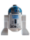 Minifig No: sw0512  Name: R2-D2 (Flat Silver Head)