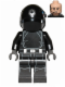 Minifig No: sw0520  Name: Imperial Gunner (Open Mouth, Silver Imperial Logo)