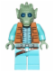 Minifig No: sw0553  Name: Greedo (with Belt)
