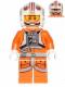 Minifig No: sw0569  Name: Luke Skywalker (Pilot, Printed Legs, Cheek Lines)