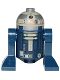 Minifig No: sw0572  Name: Astromech Droid (Dark Blue)