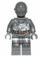 Minifig No: sw0573  Name: RA-7 Protocol Droid (Dark Bluish Gray)