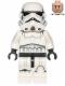 Minifig No: sw0585  Name: Stormtrooper (Printed Legs, Dark Blue Helmet Vents)
