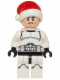 Minifig No: sw0596  Name: Clone Trooper with Santa Hat