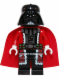Minifig No: sw0599  Name: Santa Darth Vader