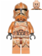 Minifig No: sw0606  Name: Geonosis Clone Trooper