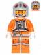Minifig No: sw0607  Name: Snowspeeder Pilot - Light Bluish Gray Helmet