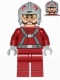 Minifig No: sw0619  Name: T-16 Skyhopper Pilot - Light Bluish Gray Helmet