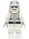 Minifig No: sw0624  Name: AT-DP Pilot (Imperial Combat Driver - White Uniform)