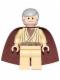 Minifig No: sw0637  Name: Obi-Wan Kenobi (Old) - Standard Cape