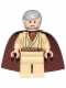 Minifig No: sw0637a  Name: Obi-Wan Kenobi (Old, Standard Cape, with Pupils)