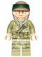 Minifig No: sw0645  Name: Endor Rebel Trooper 1 (Olive Green)