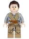 Minifig No: sw0677  Name: Rey - Dark Tan Tied Robe