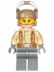 Minifig No: sw0698  Name: Resistance Trooper - Tan Jacket, Frown, Cheek Lines