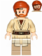 Minifig No: sw0704  Name: Obi-Wan Kenobi - with Headset