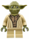 Minifig No: sw0707  Name: Yoda (Olive Green)