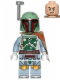 Minifig No: sw0711  Name: Boba Fett - Pauldron Cloth with Dark Orange Stripe Pattern