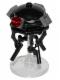 Minifig No: sw0712  Name: Imperial Probe Droid, Dark Bluish Gray Sensors (Reddish Brown Round Plate Inside)