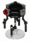 Minifig No: sw0712a  Name: Imperial Probe Droid, Dark Bluish Gray Sensors (Dark Bluish Gray Round Plate Inside)