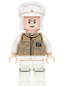 Minifig No: sw0735  Name: Hoth Rebel Trooper Dark Tan Uniform (Frown)