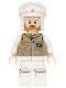 Minifig No: sw0736  Name: Hoth Rebel Trooper Dark Tan Uniform (Brown Beard)