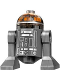 Minifig No: sw0809  Name: Rebel Astromech Droid (R3-S1)