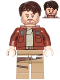 Minifig No: sw0813  Name: Cassian Andor (Reddish Brown Jacket)