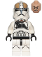 Minifig No: sw0837  Name: Clone Trooper Gunner