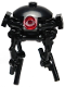 Minifig No: sw0847a  Name: Imperial Probe Droid, Black Sensors, without Stand