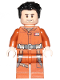Minifig No: sw0865  Name: Poe Dameron (Jumpsuit)