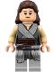 Minifig No: sw0866  Name: Rey - Light Bluish Gray Tied Robe