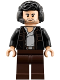 Minifig No: sw0890  Name: Captain Poe Dameron (Headset)
