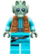 Minifig No: sw0898  Name: Greedo (with Belt on Torso)