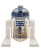 Minifig No: sw0908  Name: R2-D2 with Dirt Stains