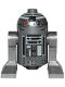 Minifig No: sw0943  Name: R2-Q2 (Large Red Dots)