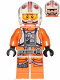 Minifig No: sw0991  Name: Luke Skywalker (Pilot, Printed Legs, Visor Up / Down)