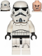 Minifig No: sw0997b  Name: Stormtrooper (Dual Molded Helmet, Gray Squares on Back)