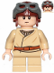 Minifig No: sw1001  Name: Anakin Skywalker (Short Legs, Reddish Brown Aviator Cap)