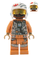 Minifig No: sw1005  Name: Resistance Bomber Pilot - Finch Dallow
