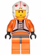 Minifig No: sw1024  Name: Luke Skywalker (Pilot, 20th Anniversary Torso)