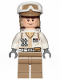 Minifig No: sw1026  Name: Hoth Rebel Trooper White Uniform, Dark Tan Legs, Backpack (Cheek Lines)
