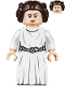 Minifig No: sw1036  Name: Princess Leia (White Dress, Detailed Belt, Skirt Part)