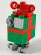 Minifig No: sw1040  Name: Festive Gonk Droid (GNK Power Droid)