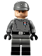 Minifig No: sw1043  Name: Imperial Officer (Junior Lieutenant / Lieutenant) - Dual Molded Legs