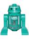 Minifig No: sw1052  Name: Astromech Droid, Dark Turquoise